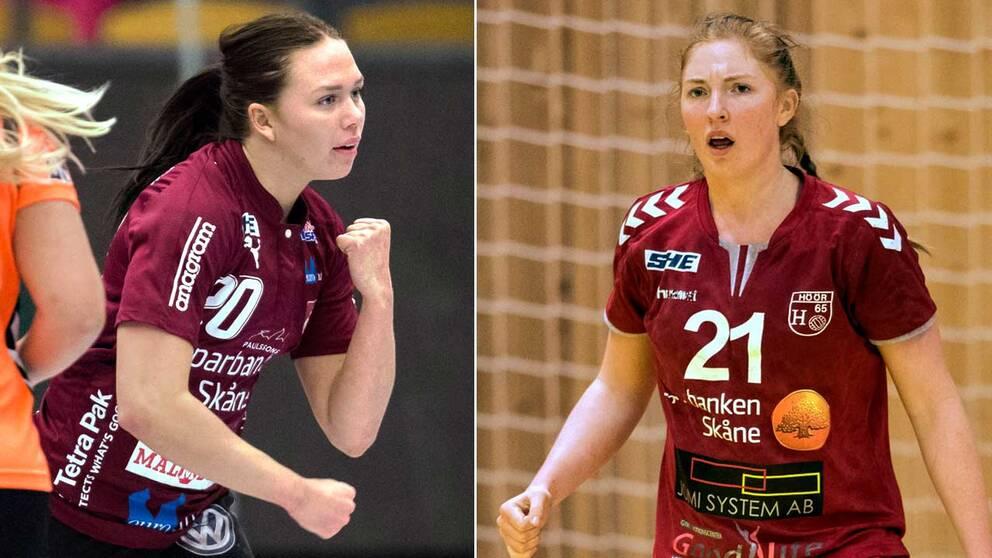 Två av SVT-experterns favoriter: Jenny Carlsson, Lugi, och Sofia Hvenfelt, H65.