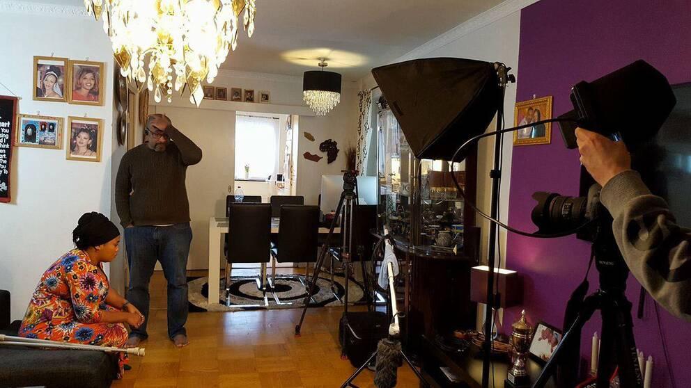 filminspelning alby tanzania