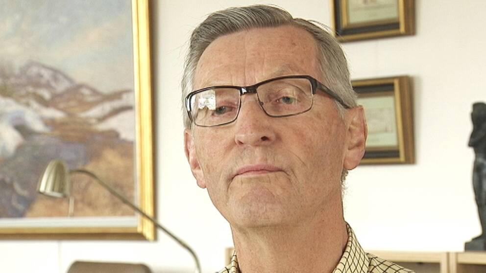 """Karl-Åke Södergren genomgick nio månaders behandling mot """"kronisk borrelia"""" i Tyskland."""