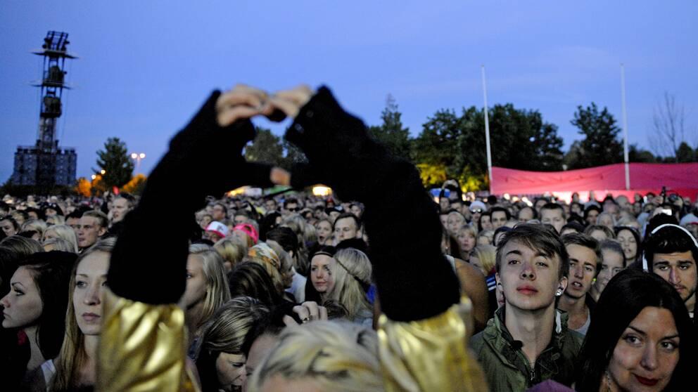 Peace and Love i Borlänge 2012.