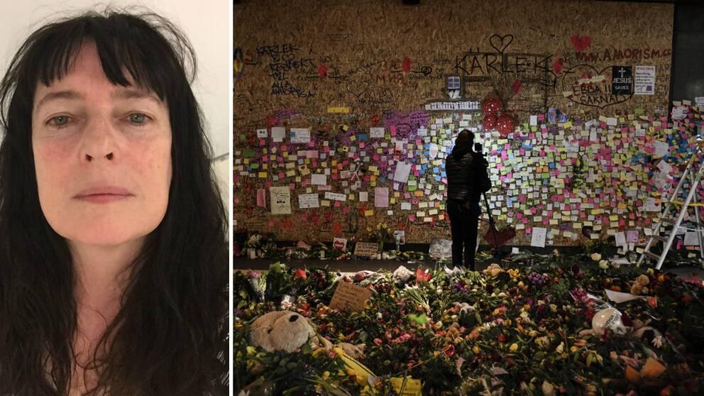 – Hon var en underbar medmänniska, säger Esther O'Hara, om Marie Kide som avled i terrorattacken i Stockholm.