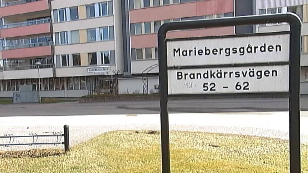 Äldreboendet Mariebergsgården i Nyköping.
