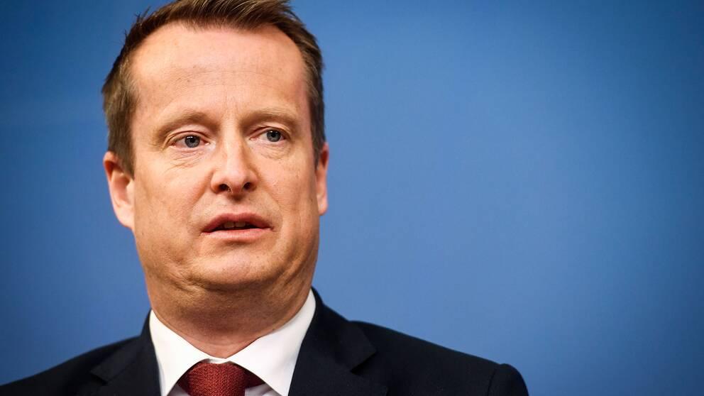 Inrikesminister Anders Ygeman.