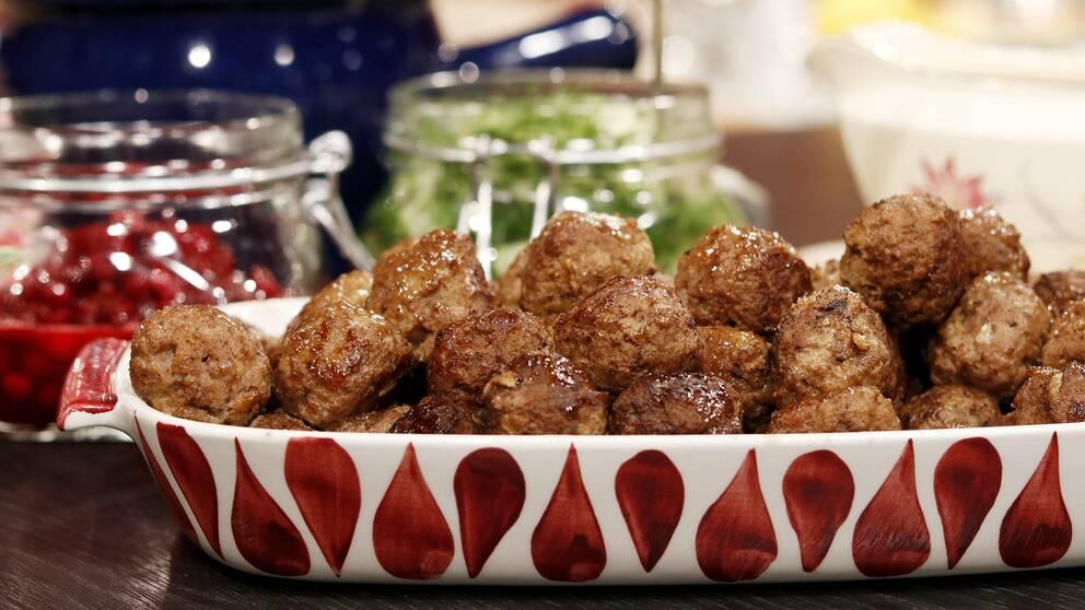 köttbullar nötfärs recept
