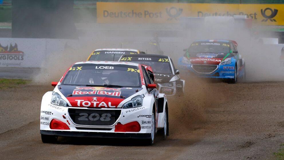 Sebastien Loeb var snabbast i kvalet på Hockenheim.