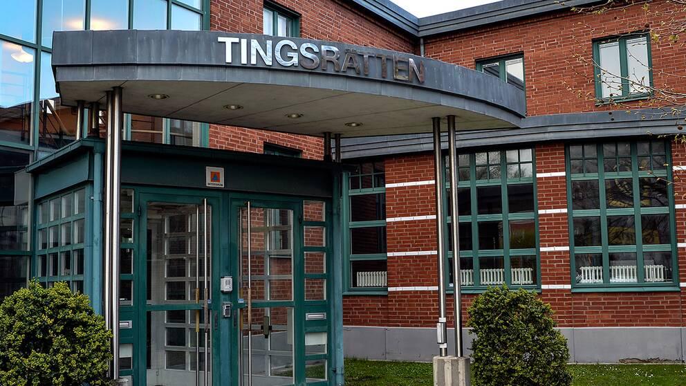 Entrén till Tingsrätten i Kristianstad