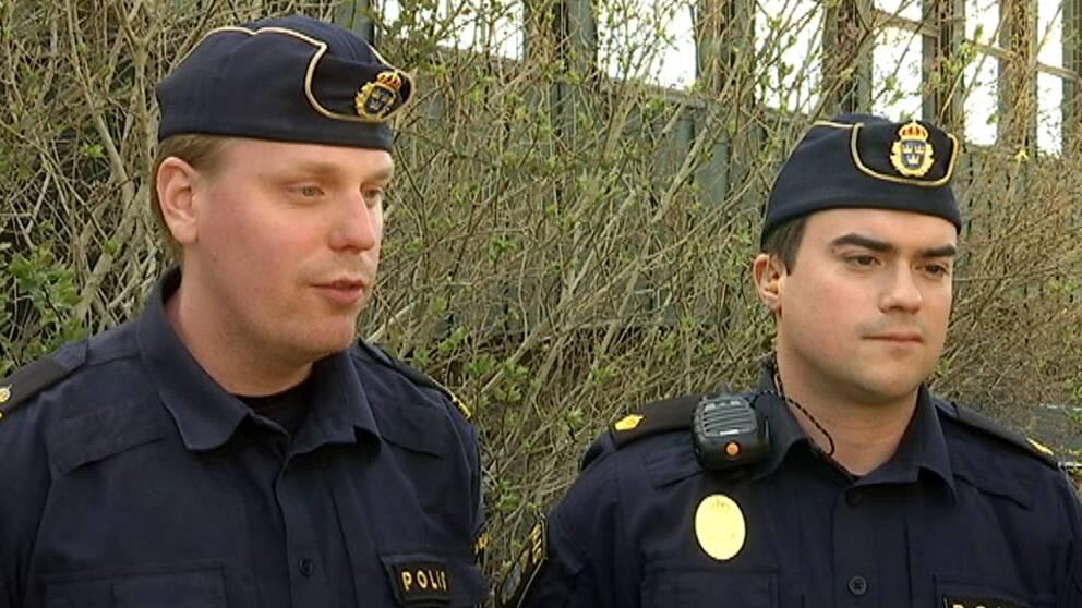 Poliserna Joakim och Hasse var de som gjorde det stora narkotikatillslaget i Botkyrka.