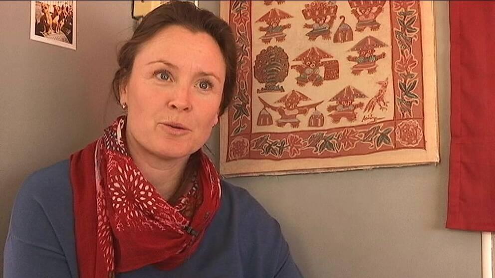 terapihundföraren Johanna Bergman