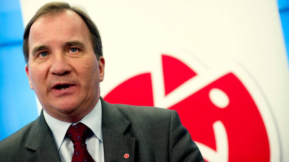 Socialdemokraternas partiledare Stefan Löfven. Foto: Scanpix