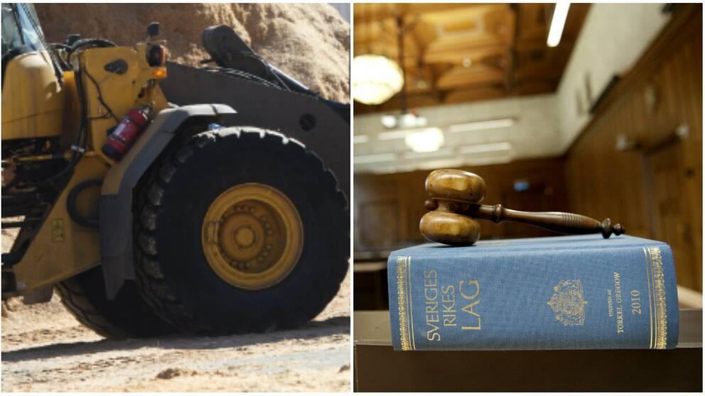 Hjullastare och lagbok