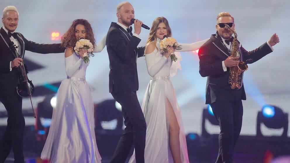 Moldavien i Eurovision song contest 2017