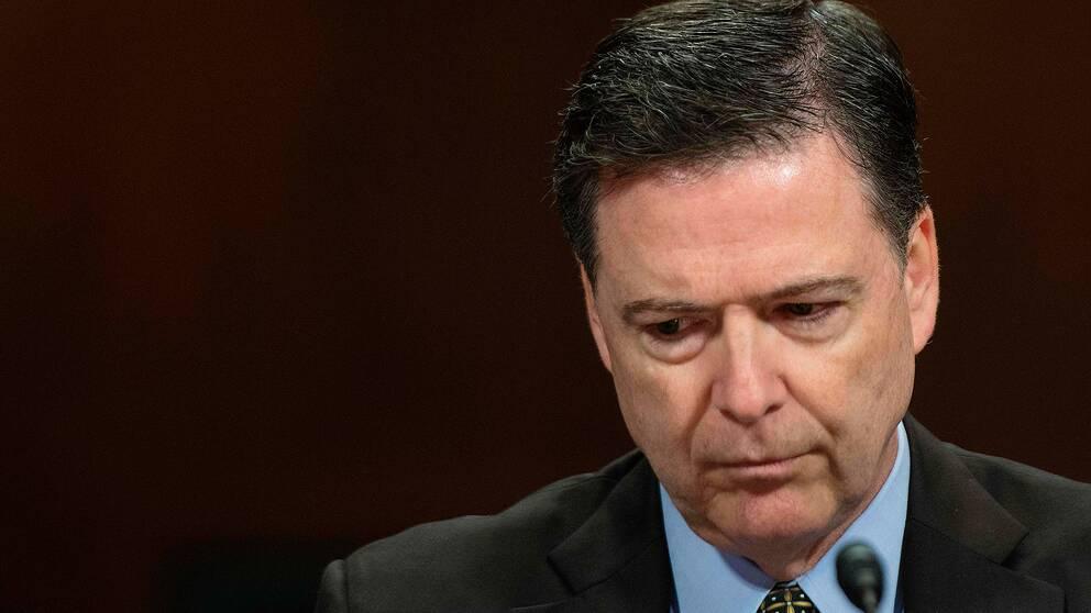 Före detta FBI-chefen James Comey.