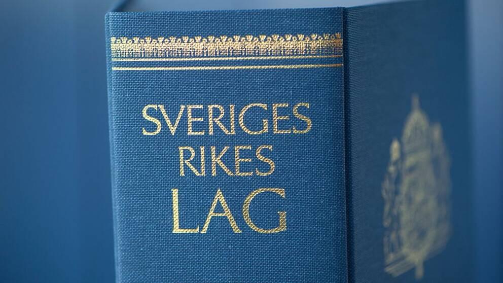 En bild på den svenska lagboken
