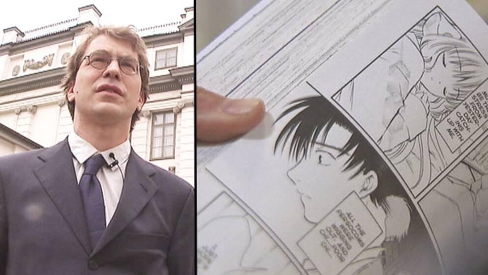 Mangaexperten Simon Lundström friades i HD i dag.