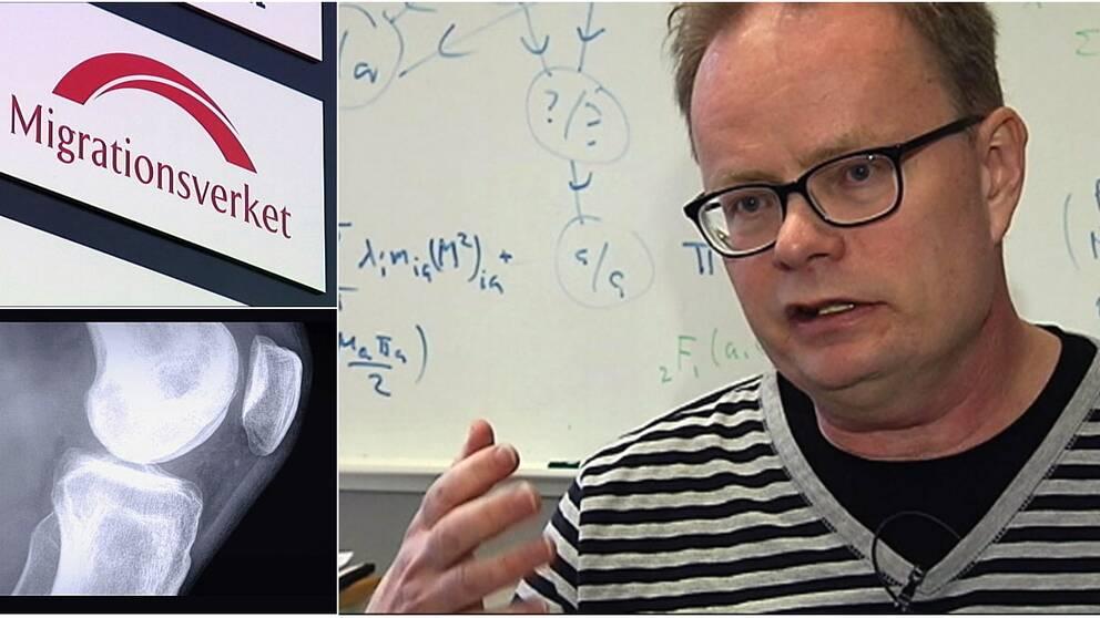 Chalmersforskaren Petter Mostad dömer ut Migrationsverkets förmåga att hantera resultaten av medicinska åldersprövningar.