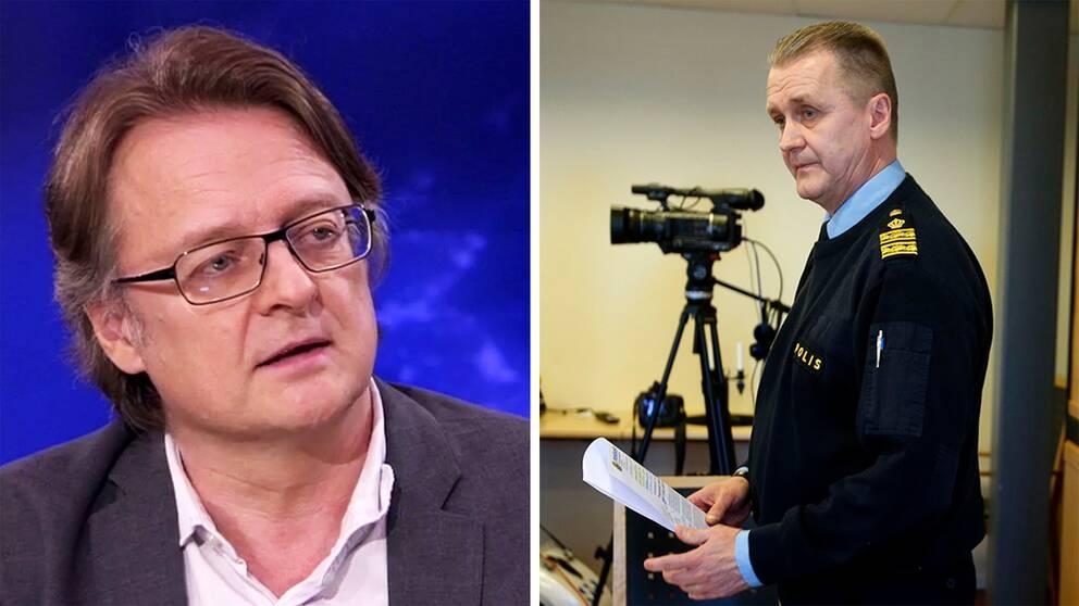 Ord står mot ord mellan Dan Josefsson och Rolf Sandberg