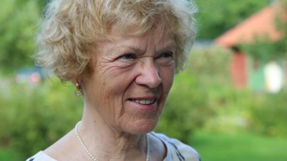 Sarolta Winkler har bott i Eriksberg i 27 år.