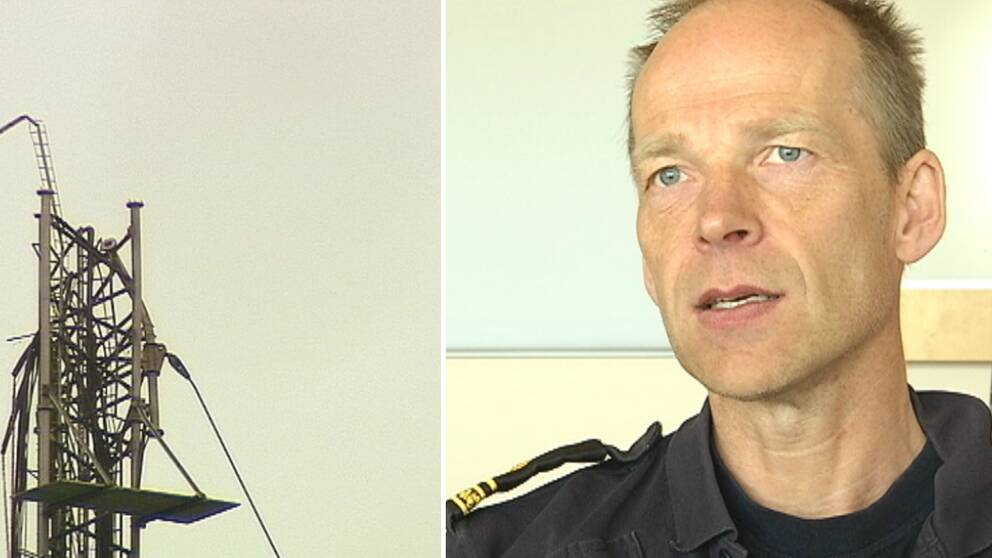 Jon Johansson polis häglaredsmasten