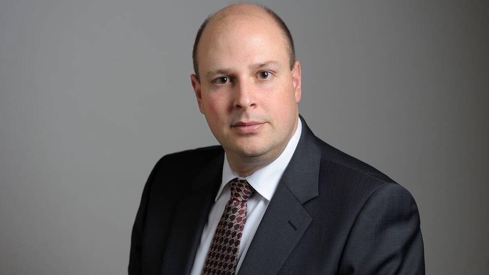 Patrick Reslow, riksdagsledamot för Sverigedemokraterna.
