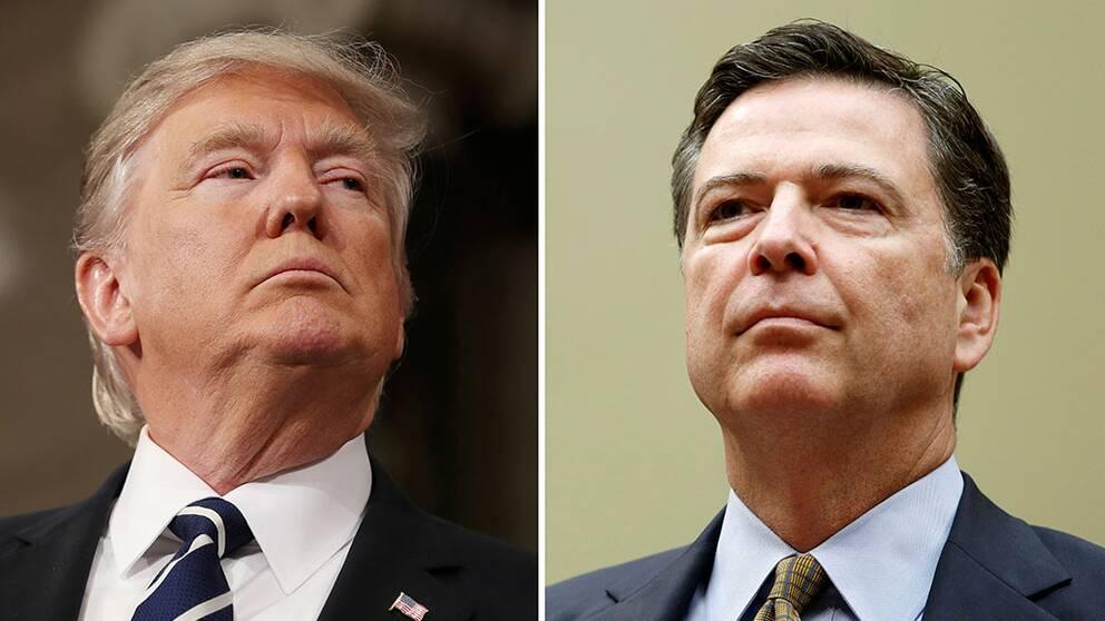 Källor: Trump bad FBI lägga ner utredning