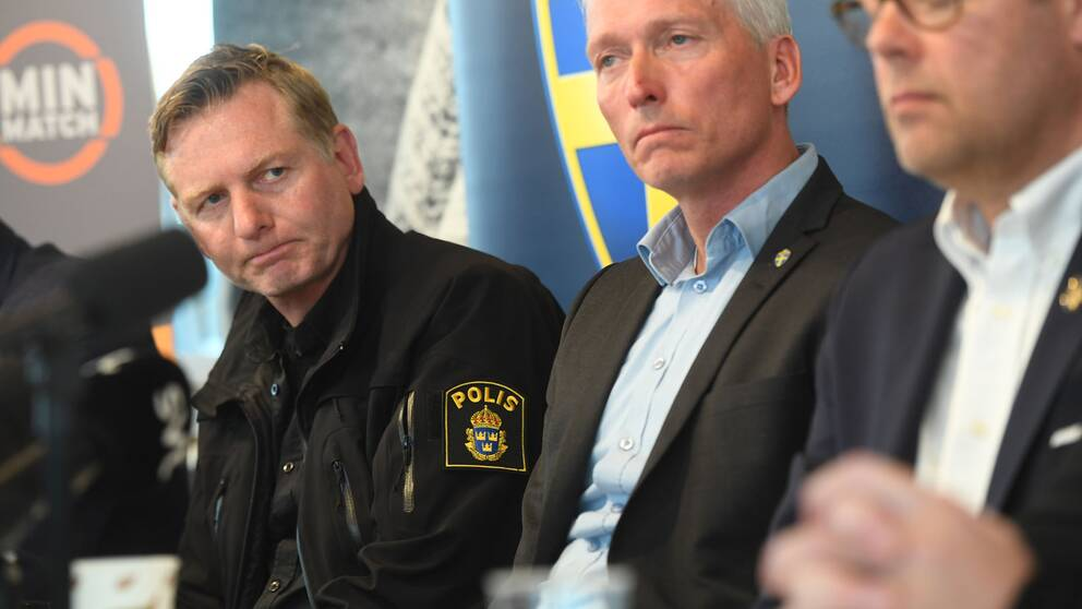 Polisen Fredrik Gårdare säger att aktörer från organiserad brottslighet vänt sig mot fotbollen i flera år.