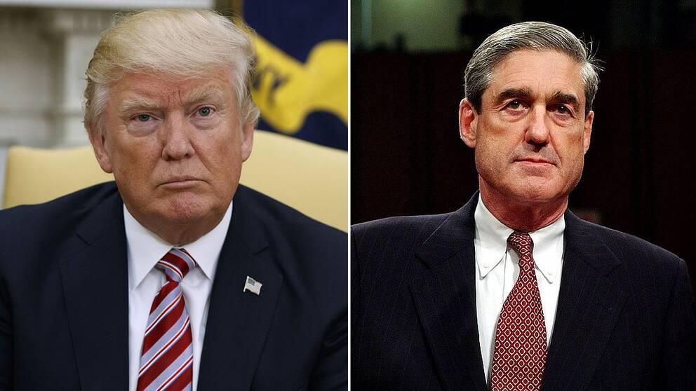 Donald Trump och Robert Mueller