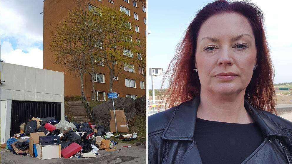 sopor Johanna Göransson tvetatippen tveta återvinning dumpning