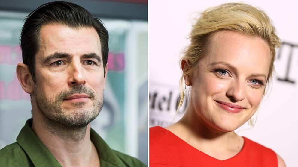 Claes Bang och Elisabeth Moss spelar huvudrollerna i Ruben Östlunds