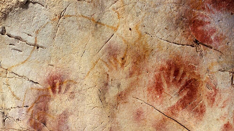 Var de neandertalare som stod modell för de nordspanska handmålningarna?