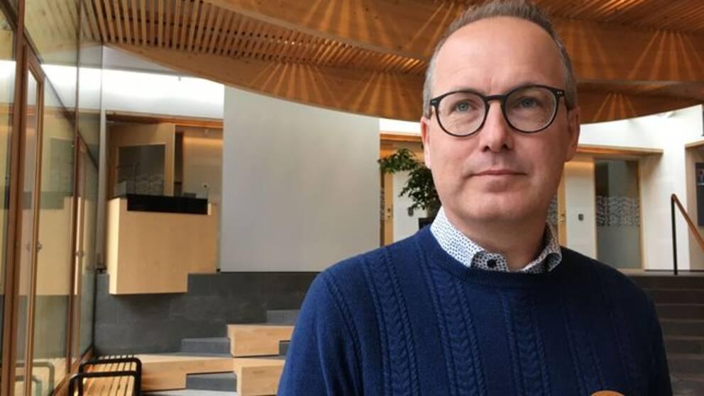 Anders Elingfors, verksamhetschef på utbildningsförvaltningen i Växjö kommun.
