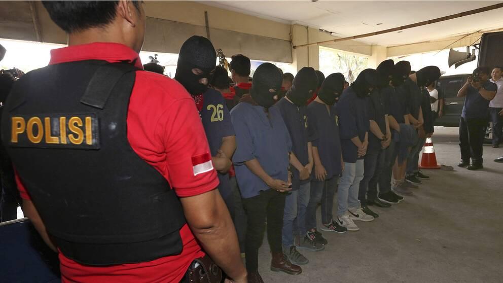 Räd mot sexklubb i Indonesien