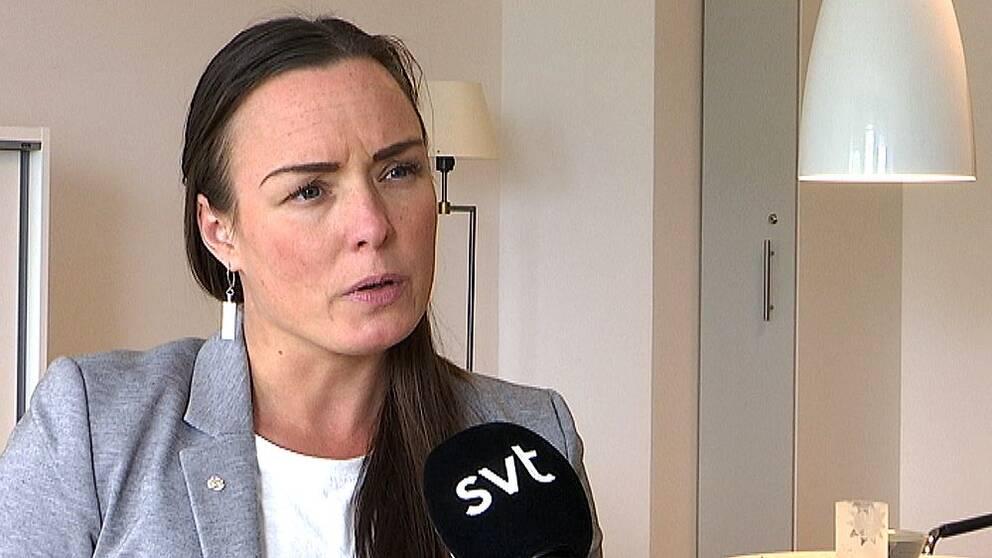 Kommunalrådet Linda Larsson (S)