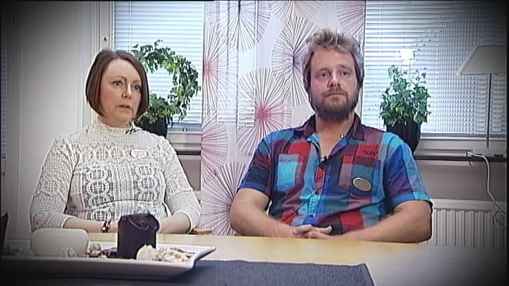 Camilla Kratz och Johan Söderman, rektorer på Söderporten i Norrköping