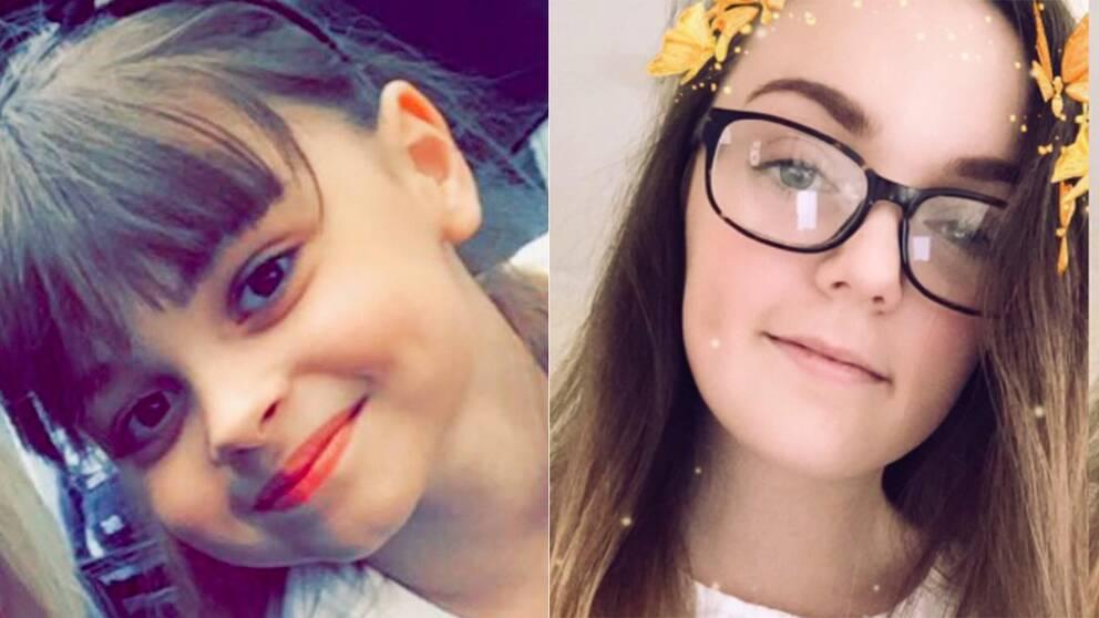 8-åriga Saffie Rose Roussos och 18-åriga Georgina Callander dödades i attentatet.