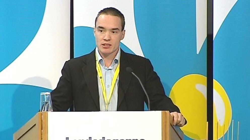 SD-riksdagsmannen Kent Ekeroth pekas ut somm en centralgestalt inom rörelsen Counterjihad.