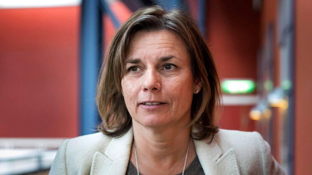 Isabella Lövin, språkrör för Miljöpartiet.