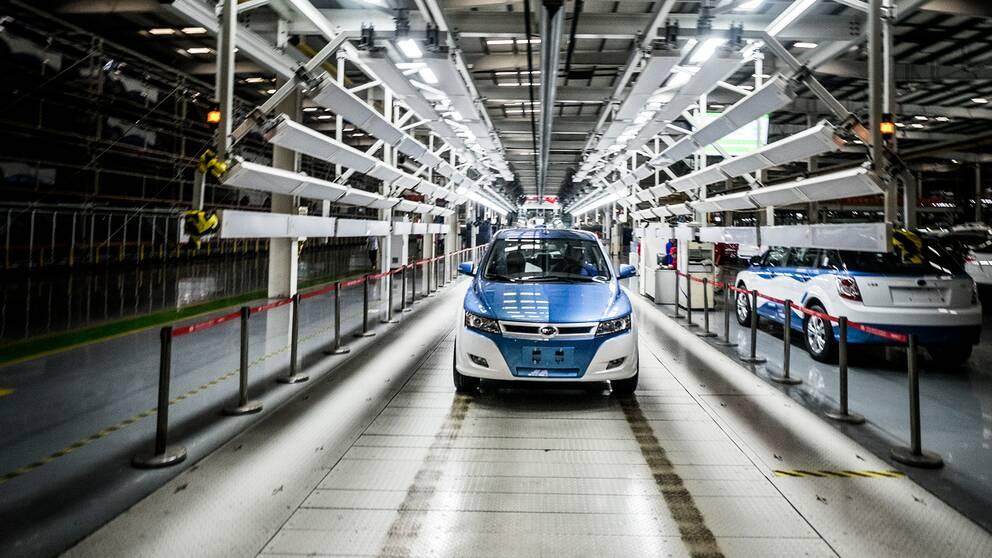 Kina är idag världens största marknad för elbilar och i mars såldes omkring 16.000 nya elbilar i Kina. De 20 mest sålda elbilarna kom alla från inhemska tillverkare.