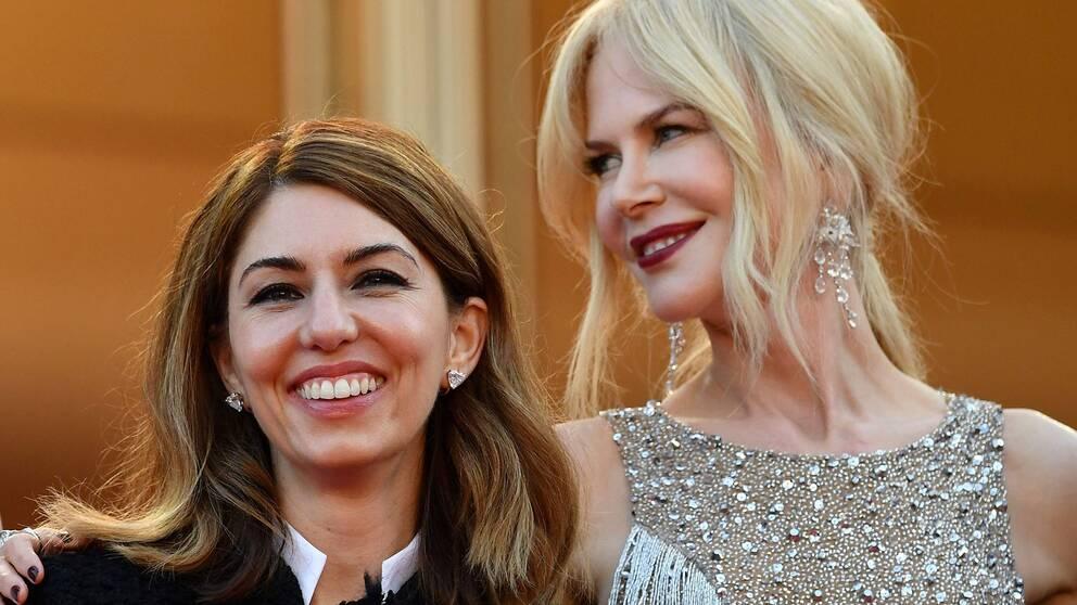 Sofia Coppola och Nicole Kidman på plats i Cannes 2017.