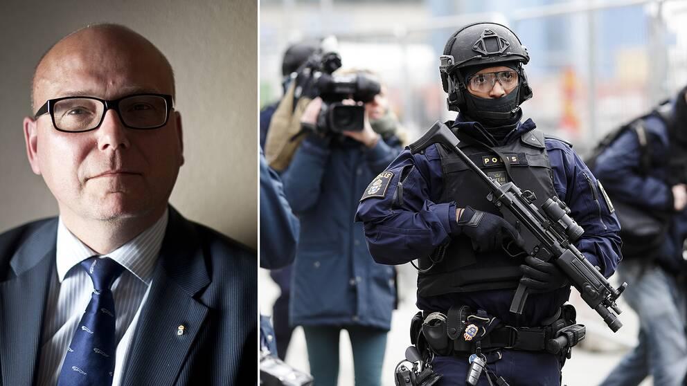 Terrorforskaren Magnus Ranstorp.