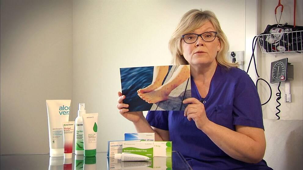 Husläkare Gunilla Hasselgren berättar hur lindrar den obehagliga badklådan och hur du slipper den helt.