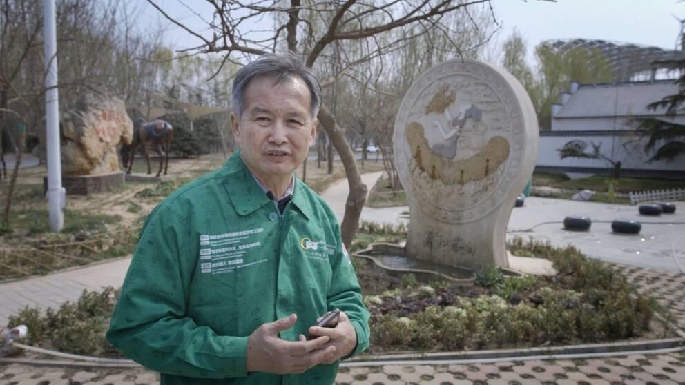 Huang Ming är fortsatt optimistisk men ser ett stort behov av samarbete världen över
