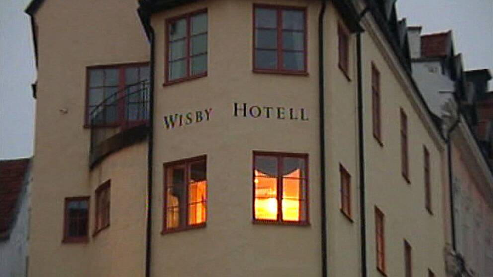 wisby hotell visby gotland mord