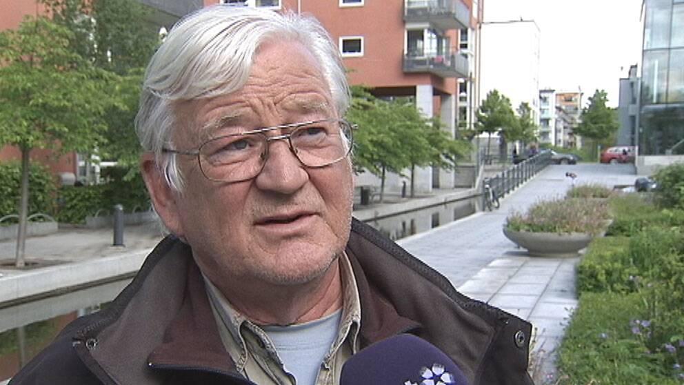 Hans-Ove Larsson, tidigare zoologisk chef på Skansen i 30 år.