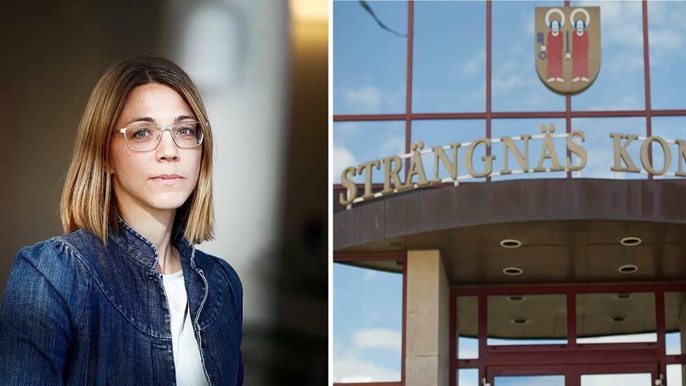 Strängnäs kommun och Josefin Winnfors kommunchef.