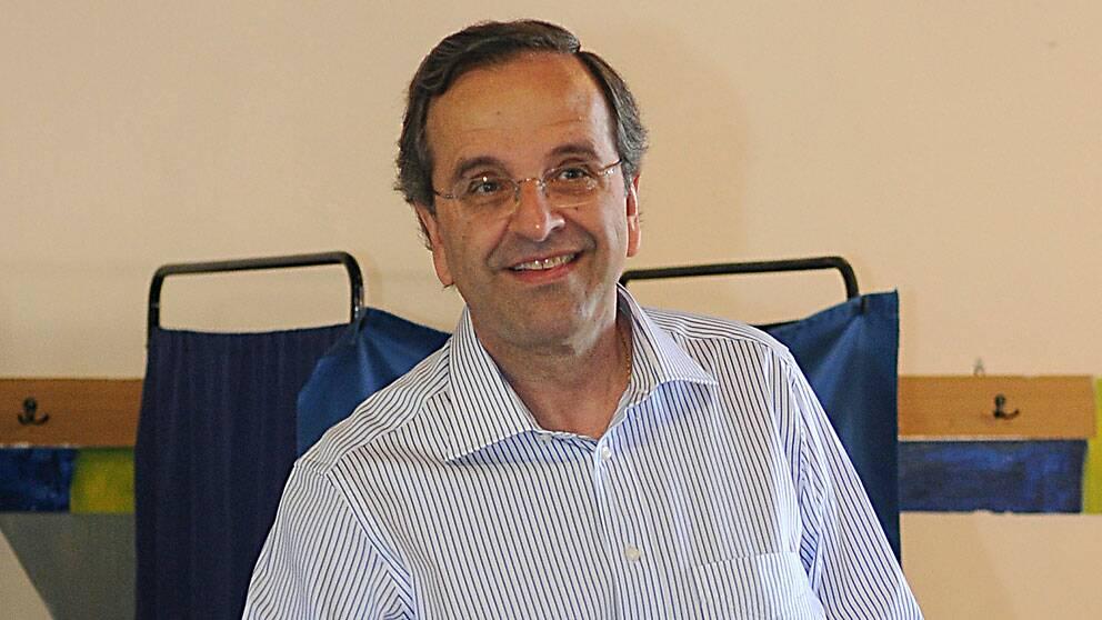 Antonis Samaras, ledare för konservativa Ny Demokrati