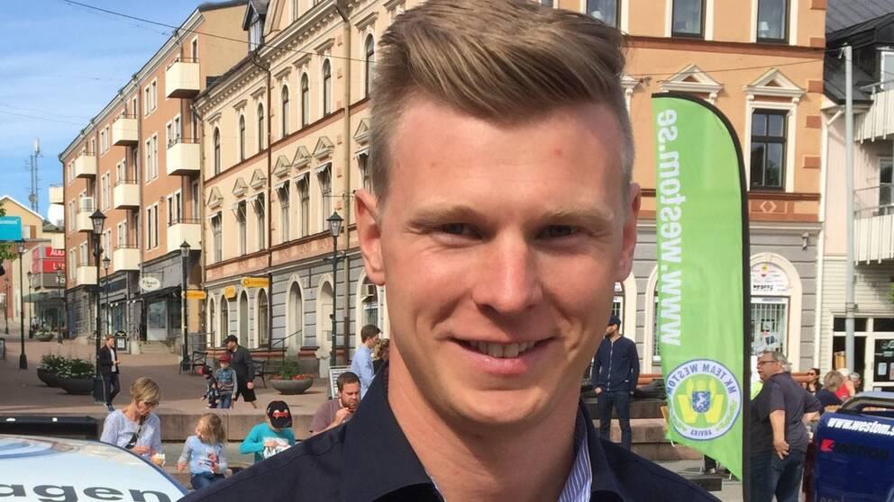 Johan Kristoffersson förstärker Solberg-teamet som coach åt Oliver.