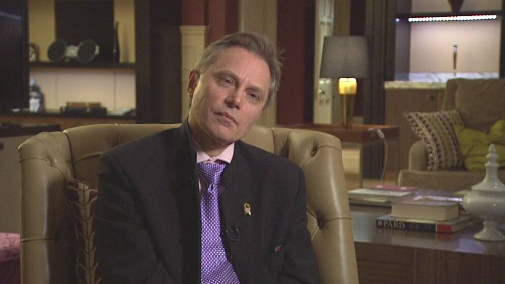 Den brittiske högerextremisten Alan Lake har besökt Sverige, inbjuden av Kent Ekeroth (SD).
