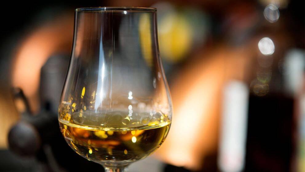 Ett glas whisky