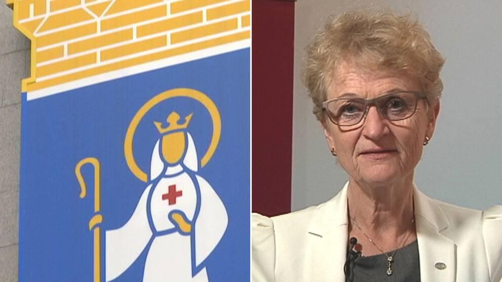 """""""Södertälje står sig väldigt bra i jämförelse med resten av landet"""", säger PRV:s generaldirektör Susanne Ås Sivborg."""