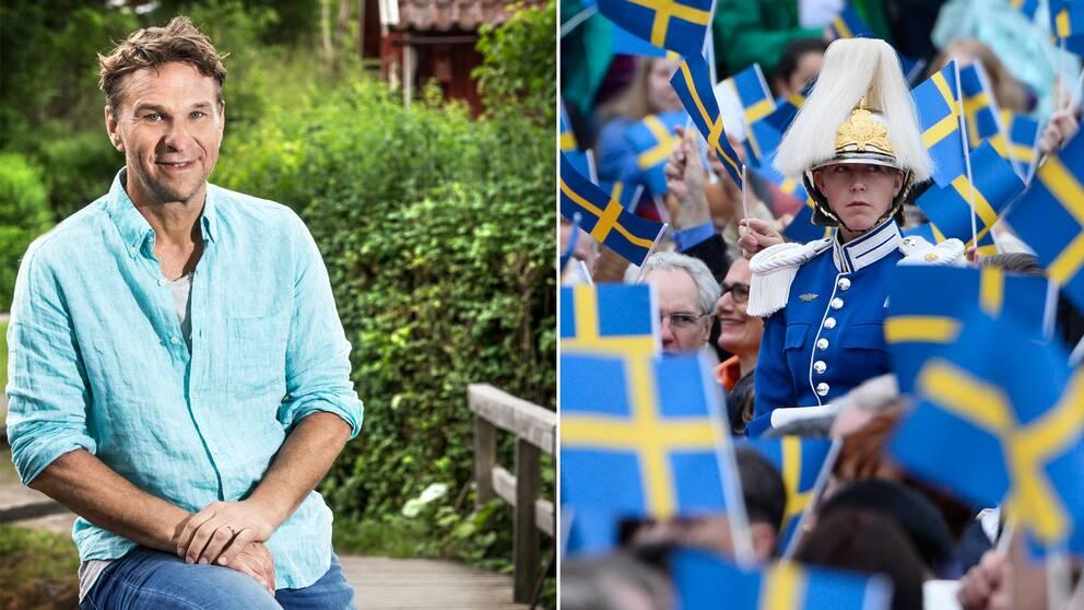 Anders Lundin är programledare för Allt för Sverige där deltagarna kommer  att fira den svenska nationaldagen 5ebe4ff39d24c